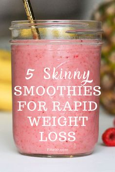 5 Best Smoothie Recipes for Weight Loss - 5 skinny smoothies for rapid weight l. 5 Best Smoothie Recipes for Weight Loss – 5 skinny smoothies for rapid weight loss. these health Smoothie Detox Plan, Smoothie Prep, Apple Smoothies, Yummy Smoothies, Juice Smoothie, Detox Drinks, Healthy Drinks, Nutritious Smoothies, Making Smoothies