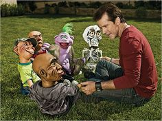 "Greatest hidden ""Wait, what?"" in a feature on Jeff Dunham. He tries to explain his bigoted jokes by saying, ""I make fun of everything,"" but later notes that it's wrong to make fun of Christians."