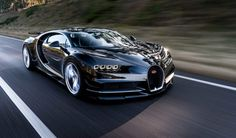 Bugatti Chiron Will Go 0-250-0 mph in Under a Minute