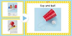Cup and Ball Craft Instructions PowerPoint - EYFS, craft, Victorian toys Boy Diy Crafts, Toy Story Cookies, Toy Room Organization, Diy Toy Box, Victorian Crafts, Classroom Displays, Ks1 Classroom, Classroom Ideas, Toy Story Birthday