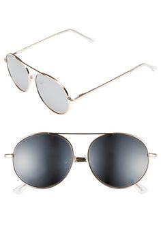 820214040f10e 53mm Mirror Aviator Sunglasses Mirrored Aviators