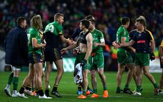 Ireland players celebrate after the International Rules Series match between Ireland and Australia at Croke Park Stadium on November 2015 in Dublin, Ireland. Croke Park, Dublin Ireland, Sumo, November, Australia, Wrestling, Celebrities, Sports, People