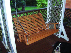 Diy garden swing sunrooms 66 Ideas for 2019 Porch Swing Frame, Patio Swing, Porch Swings, Garden Swings, Swing Design, Shed Design, Outside Swing, Timber Logs, Diy Porch