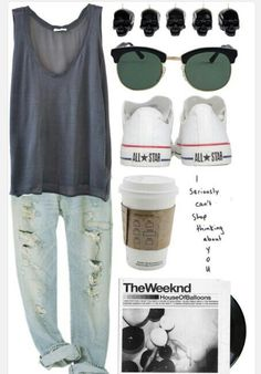 Love this casual outfit! Its plain but wear it right and you'lll look great!