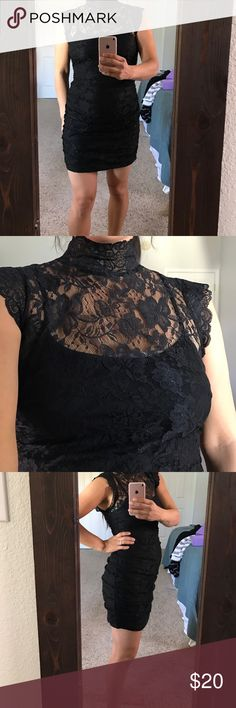 💝Gorgeous lace dress💝 Perfect for many holiday occasions. #valentinesdress❤️Perfect LBD Forever 21 Dresses Mini