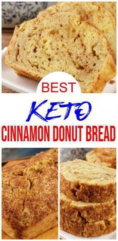 Keto Desserts, Keto Snacks, Dessert Recipes, Dinner Recipes, Diabetic Snacks, Drink Recipes, Healthy Snacks, Low Carb Donut, Low Carb Sweets