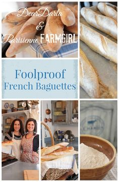 Foolproof French Baguettes! Full free video tutorial, tips, and recipes for how to make a authentic and delicious french baguette with as a home bread baker!