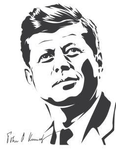 John F. Kennedy by astayoga.deviantart.com on @DeviantArt