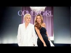 Ellen DeGeneres + Sofia Vergara - Covergirl commercial