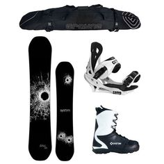 c42b8a54e109 X-Mas Special 2018 System DNR and Summit Men s Snowboard Package