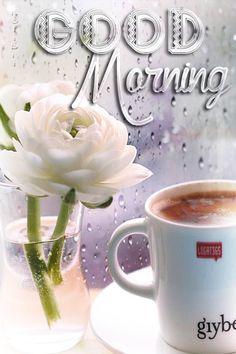 Rainy Good Morning, Good Morning Gift, Good Morning Coffee Gif, Good Morning Friends Quotes, Good Morning Photos, Good Morning Messages, Good Morning Greetings, Good Morning My Friend, Morning Quotes