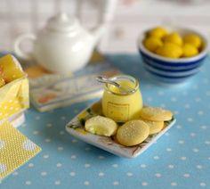 Miniature Lemon Curd Cookie Set