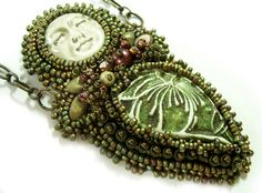 Queen of Paradise Necklace Instructions PDFFile by noeasybeads, $10.00