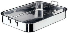 Paderno World Cuisine 24 Inch x 17 Inch Stainless Steel Roasting Pan