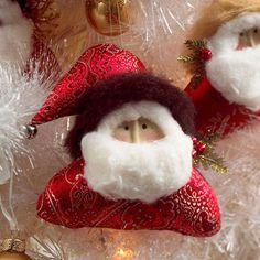 Plush santa ornament craft crafts christmas crafty merry christmas christmas pictures santa christmas crafts christmas ideas happy holidays santa claus merry xmas