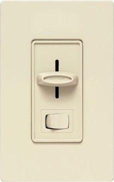 Skylark Incandescent Light Dimmer - modern - switchplates - Lumens