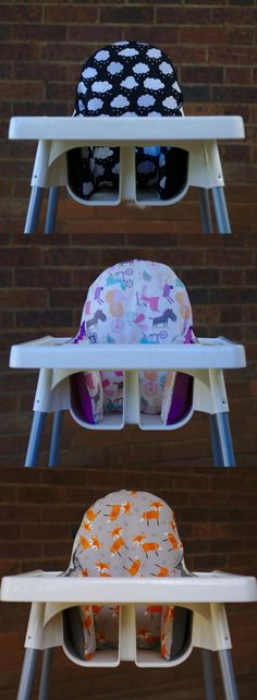 Cushion Covers for IKEA High Chair http://www.ikeahackers.net/2017/07/cushion-covers-for-ikea-high-chair.html