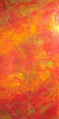 "I Came to My Senses by Bridgit Taylor | $500 | 24""w x 48""h | Original Art | http://www.vangoart.co/buy/art/i-came-to-my-senses @VangoArt"