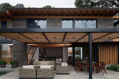 There are lots of pergola designs for you to choose from. First of all you have to decide where you are going to have your pergola and how much shade you want. Outdoor Decor, House Design, Modern Pergola, House Front, Outdoor Living, House Exterior, Exterior Design