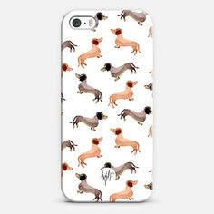 Darling Dachshunds case for iPhone and Android devices!