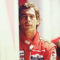 The essence of racing. senna