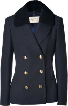 Wool-cashmere Top Cliffes Jacket in Navy - Lyst