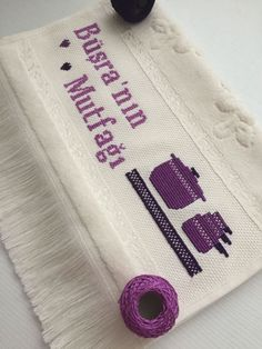 Hand Embroidery Videos, Embroidery Stitches, Cross Stitch Designs, Cross Stitch Patterns, How To Make Headbands, Swedish Weaving, Embroidered Towels, Free To Use Images, Diy Headband