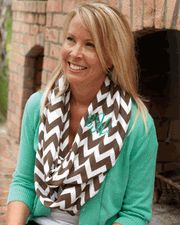 You can get cheap and very cute scarves at sewforless.com