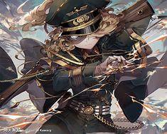 Cool Anime Girl, Anime Art Girl, Manga Art, Manga Anime, Tanya Degurechaff, Anime Krieger, Flower Drawing Images, Character Art, Character Design
