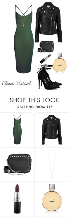 """""""badly sexy"""" by ednamarizete on Polyvore featuring Boohoo, Witchery, H&M, Noor Fares, MAC Cosmetics and Chanel"""