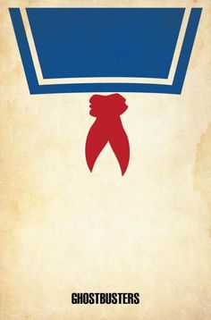 Ghostbusters - Cool Collection of Minimalist Movie Poster Art — GeekTyrant Old Posters, Best Movie Posters, Minimal Movie Posters, Minimal Poster, Movie Poster Art, Poster S, Cinema Posters, Horror Posters, Ghostbusters Poster
