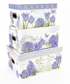Look what I found on #zulily! Chateau Fleur Steamers - Set of Three #zulilyfinds