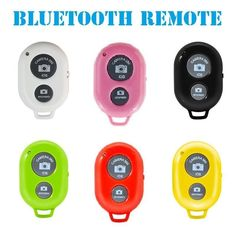 Selfie Wireless Camera Bluetooth Remote Shutter for IOS Android Any Smart Phone #UnbrandedGeneric