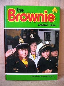 The Brownie Annual. Girl Guides. 1988.
