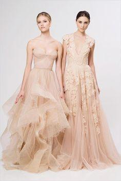 Beautiful blush gowns!