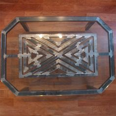 3Cubed Mosaic Coffee Table by Boltz   Coffee Tables   Boltz Steel Furniture