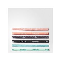 adidas Fighter Graphic Hairbands (£11) ❤ liked on Polyvore featuring accessories, hair accessories, multicolor, head wrap hair accessories, hair bands accessories, head wrap headbands, adidas and adidas headbands
