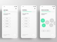 Questionnaire Screen by Jagdev Soni