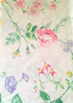 Vintage Martex Flat Sheet No Iron Percale by TheLittleThingsVin, $22.00