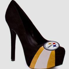 steelers heels! can football season get here any sooner?