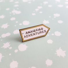 Pins, badges and gifts for introverts and cat people by LauraTalantiShop Jacket Pins, Shantel Vansanten, Cool Pins, Pin And Patches, Angst, Up Girl, Pin Badges, Lapel Pins, Pin Collection