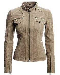 Danier : outlet : women : leather jacket in light brown is a great ...
