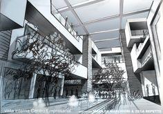 Project by Zeca Repette + Marilda Marciori Architecture Studio  in Londrina - Brazil  Executivo Center