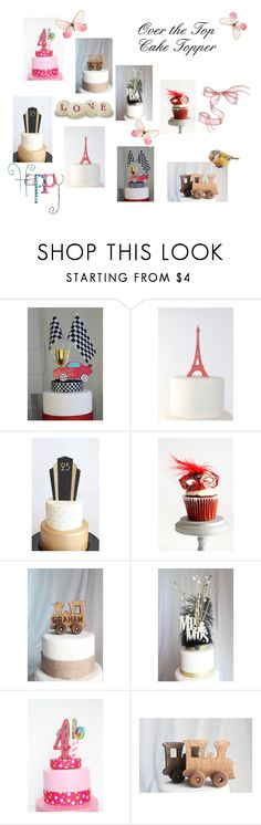 Over the Top Cake Topper by afloralaffair-1 on Polyvore featuring interior, interiors, interior design, home, home decor, interior decorating, Nome and Masquerade