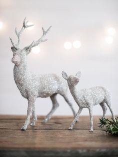 DIY: A Glittery Makeover for Holiday Decorations | HGTV >> http://www.hgtv.com/design/make-and-celebrate/holidays/give-old-holiday-decorations-an-easy-glittering-makeover?soc=pinterest