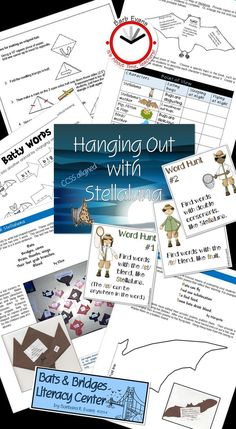 Hanging Out with Stellaluna - a thematic unit. Teaching Kindergarten, Teaching Resources, Classroom Resources, Preschool Teachers, Teaching Ideas, Creative Teaching, Student Teaching, Comprehension Activities, Reading Comprehension