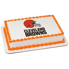 Cleveland Browns Edible Images - 1/4 Sheet