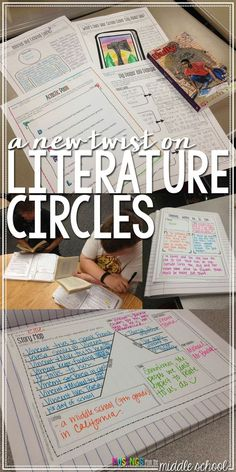 Looking to breathe some life into your lit circle routine? Check out th. 8th Grade Ela, 6th Grade Reading, Sixth Grade, Fourth Grade, Third Grade, Seventh Grade, Middle School Reading, Middle School English, 6th Grade English