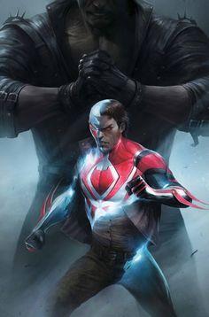 #Spiderman #Fan #Art. (Spider-Man 2099 Vol.3 #8 Cover) By: Axel Alonso. ÅWESOMENESS!!!™ ÅÅÅ+
