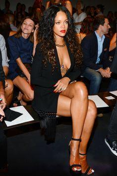 Rihanna at Altuzarra Fashion Show at New York Fashion Week